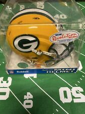 Vintage Green Bay Packers Revolution Authentic Mini Helmet New In Box NFL