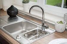 Chrome Single Lever Modern Chrome Kitchen Sink Bathroom Basin Mixer Tap (3208)