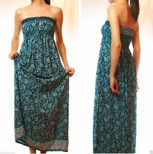 Viscose Regular Size Maxi Dresses Paisley for Women