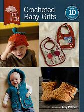 Crocheted Baby / Infant Gifts Booties Blankets Bibs Dress Crochet Pattern Book