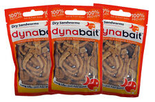 Dynabait Sand worms 3x ( freeze dried, no refrigerator needed, just add water )