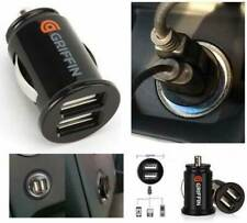Car Charger Mini Dual USB 12v Lighter Socket Adapter plug fast charging twin usb