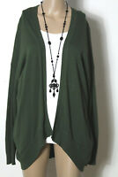 Vero Moda Strickjacke Gr. S/M dunkel-grün Damen Strickjacke/Cardigan