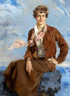 Framed canvas art print giclee  Amelia Earhart, Town and Country cover, February