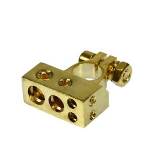 VooDoo Gold 4 8 awg ga POSITIVE or Negative BATTERY Terminal