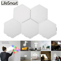 Quantum LED Lamp Touch Sensor Sensitive Hexagon Modular Home Wall Night Light