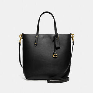 Coach Ladies Central Shopper Tote in Gold/Black 78217 GDBLK