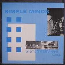 SIMPLE MINDS: Sister Feelings Call LP (Germany) Rock & Pop