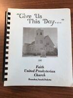 VTG Faith United Presbyterian Church BRANDON COOK BOOK SOUTH DAKOTA Casseroles