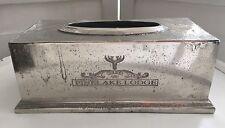 Tissuebox Antik Silber Look 'Pinelake Lodge' Alu Kleenexbox Kosmetiktücherbox