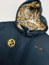 Pittsburgh Steelers YOUTH 2016 Salute to Service Sweatshirt Pullover Hoody Large