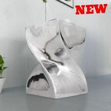 Contemporary Stool Side Coffee Table Twisted Metal Unique Art DESIGNER Furniture