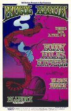 MINT Procol Harum Buddy Miles 1969 BG 167 Fillmore Poster
