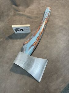 Custom Uncle Pimpys Axe Palace AXE GANG Throwing axe hatchet JESSE REED handle