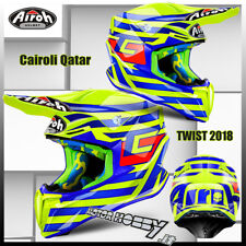 CASCO CROSS ENDURO MOTARD AIROH TWIST TONY CAIROLI QATAR 2018 TAGLIA L (59-60)