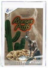 TRAVIS SCOTT REESES PUFFS Cereal Box