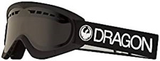 "NEW Dragon ""DXS"" SN-17140 Black- Dark Smoke KIDS Snow Goggles"