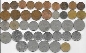 Dealer Old World Coins Bulk Lot 40 Ghana Mixed Date/Type Bronze & Copper-Nickel