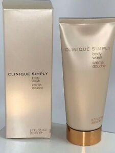 Clinique Simply Body Wash shower gel 6.7  oz