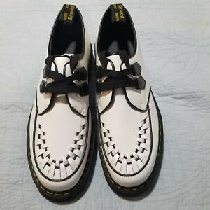 Dr Martens Sidney Leather Creepers Platform Shoes Size 14