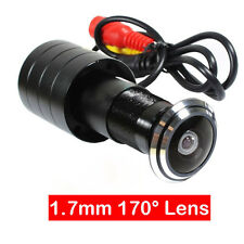 170 Degree Wide Angle Wired Mini Door Eye Hole Peephole Color CCTV Video Camera