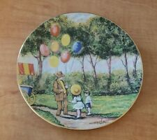 Calhouns Plate The Balloon Man original painting by Doninic Mingolla