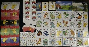 Pokemon TCG McDonald's 2021 25TH Anniversary Complete Accessories Set! 31 Items!