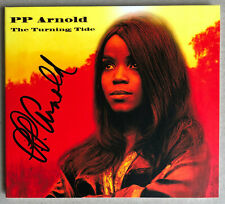 P.P. ARNOLD * THE TURNING TIDE * SIGNED 13 TRK CD * BN&M! * PATRICIA ANN COLE