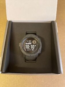 Garmin instinct rugged GPS Watch - New