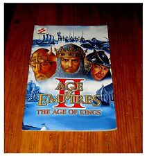 ANLEITUNG PS2 AGE OF EMPIRES II - THE AGE OF KINGS - KEIN SPIEL - DEUTSCH