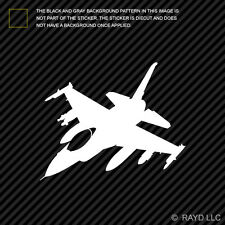 (2x) F-16 Fighting Falcon Sticker Die Cut Decal Self Adhesive Vinyl Fighter F16
