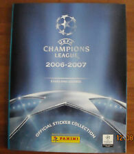 PANINI  STICKER  ALBUM UEFA CHAMPIONS LEAGUE-2006-2007-100% NEW-100% COMPLETED