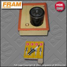 SERVICE KIT PEUGEOT 206 2.0 16V GTI FRAM OIL AIR FILTERS SPARK PLUGS (1999-2005)