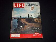 1956 DECEMBER 3 LIFE MAGAZINE - ARIZONA'S HULK - BEAUTIFUL FRONT COVER - GG 682