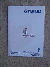2004 Yamaha Outboard Motor F6D F8D T8D Owner Manual Operation Maintenance Care K