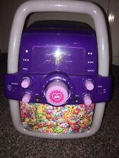 Girls Shopkins Karaoke Machine RRP £49.99