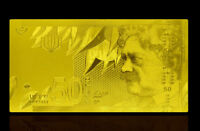 "★★★ ISRAEL : BILLET POLYMER  "" OR "" DU 50 NEW SHEQELS  ★★"