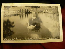 Redmond Bend Hwy Petersens rock garden postcard Oregon Christian  #1479