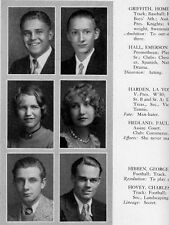 1930 Los Angeles Fairfax High School Yearbook~Photos~History~Baseball~Drama~Ads
