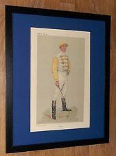 Vanity Fair print -  Danny, Jockey Prints - Spy, 20''x16'' frame
