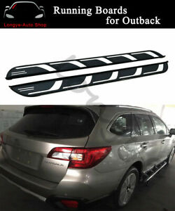 Running Boards fits for Subaru Outback 2015-2019 Side Step Nerf Bars Protector