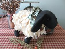 Primitive Handcrafted Grubby Sheep* Shelf Sitter* Ornies* Country* folk art*