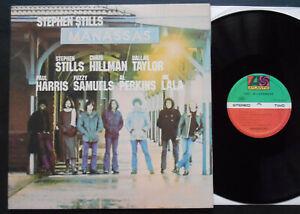 STEPHEN STILLS MANASSAS 2xLP 1972 Quasi neuf