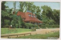 Leicestershire postcard - Spinney Hill Park, Leicester - P/U 1908 (A87)