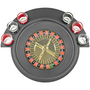 Shot Glass Roulette Drinking Party Game Comes With 2 Balls and 6 Shot Glasses