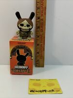 Dunny by Kidrobot and Foil 2011 Series Card Rider Dunny by Chuckboy Box