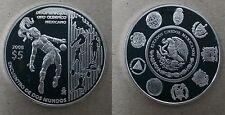 MÉXICO 2008. 5 Pesos Plata VII Serie Iberoamericana. Disciplinas de Oro Olímpico