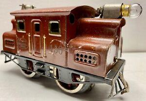 LIONEL 150, ELECTRIC LOCOMOTIVE, MAROON, 3 RAIL, O GAUGE, ELECTRIC, 1920's