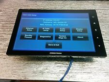 """Lot of 5 Crestron TSW 1050 B-S Touch Panel Screen 10"""" Unit Black w/ Wall Mount"""