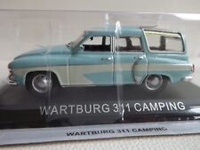 New model - Wartburg 311 Camping - IXO IST 1:43 - Light Blue DDR East Germany